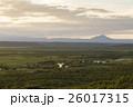 釧路 湿原 夕暮れの写真 26017315