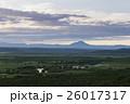 釧路 湿原 夕暮れの写真 26017317