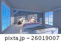 ベッドルーム 26019007