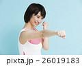 フィットネス ボクササイズ ボクシング エクササイズ スポーツ 運動 トレーニング 女性 26019183