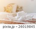 ベッド 白い インテリアの写真 26019845