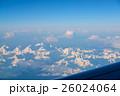 飛行機からの朝焼け 26024064
