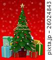 クリスマスツリー 3DCG  26024843