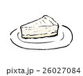 レアチーズケーキ 26027084