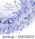 Christmas and New Years blue purple background 26028839
