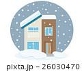 住宅 家 一戸建てのイラスト 26030470