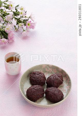 ぼた餅(おはぎ) 春のお彼岸イメージ 26031801