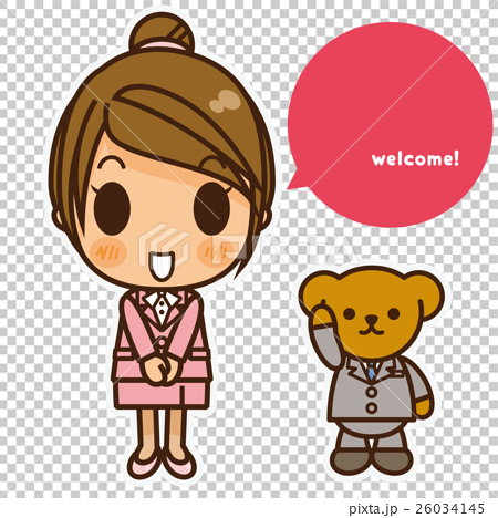 オンナノコ 制服スーツ(ピンク) ご挨拶 26034145