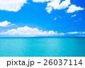 エメラルドグリーン 夏 沖縄の写真 26037114