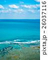 エメラルドグリーン 夏 沖縄の写真 26037116