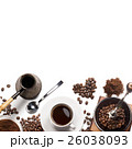 コーヒー コーヒーミル 珈琲ミルの写真 26038093