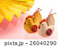 酉 酉年 年賀素材の写真 26040290