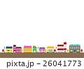 秋の街並み【洋風建築・シリーズ】 26041773