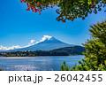 【山梨県】河口湖と富士山 26042455