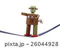 綱渡りする玩具のロボット 26044928