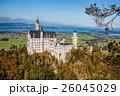 秋 バイエルン 城の写真 26045029