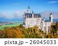 秋 バイエルン 城の写真 26045033