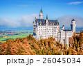 秋 バイエルン 城の写真 26045034