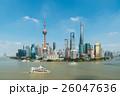 上海 シャンハイ 川の写真 26047636