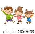 遊ぶ子供たち 26049435