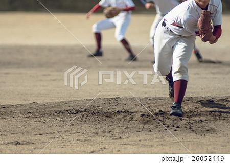 高校野球試合風景 26052449
