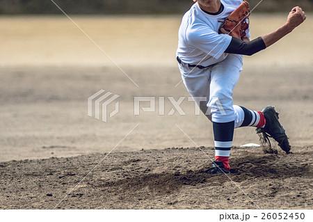 高校野球試合風景 26052450