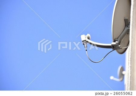 衛星放送のパラボラアンテナ 26055062
