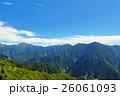 山 山岳 北アルプスの写真 26061093
