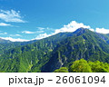 山 山岳 北アルプスの写真 26061094