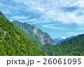 山 山岳 北アルプスの写真 26061095