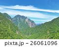 山 山岳 北アルプスの写真 26061096