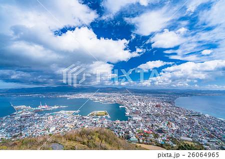 【北海道】函館の街並み【函館山より】 26064965