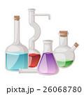 Lab flask vector set. 26068780