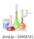 Lab flask vector set. 26068781