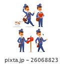 Postman character vector set. 26068823