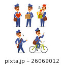 Postman character vector set. 26069012