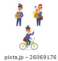 Postman character vector set. 26069176