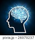 脳のネットワーク 26070237