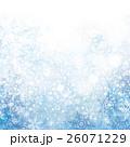 雪 雪の結晶 冬のイラスト 26071229
