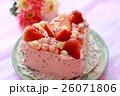 ピンクのハートケーキ 2 26071806