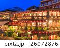 台湾 九份 夜景の写真 26072876