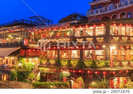 台湾九份夜景 26072876