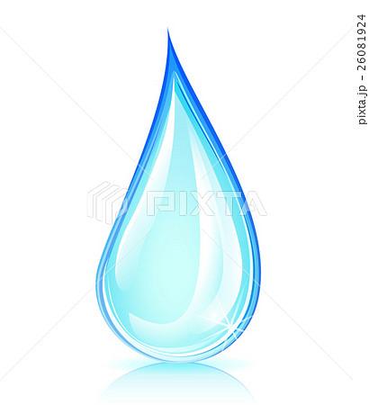 water drop conceptのイラスト素材 [26081924] - PIXTA