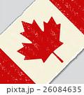 Canadian grunge flag. Vector illustration. 26084635