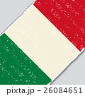 Italian grunge flag. Vector illustration. 26084651
