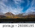 長野 上高地 朝の焼岳 26086195