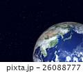 地球 宇宙 惑星のイラスト 26088777