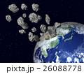地球(小惑星、隕石、宇宙塵)などのイメージ 26088778