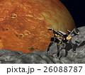 火星 探査 探査ロボットのイラスト 26088787