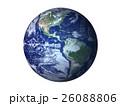 地球 アメリカ大陸 南米のイラスト 26088806